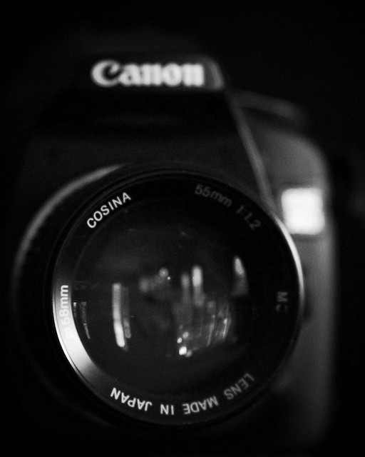 Cosina 55mm f/1.2 on a Canon 30D