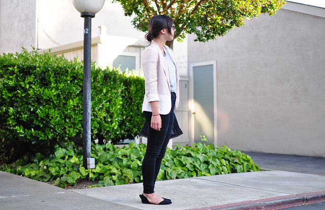 outfit, fashion blogger, california, work wear, office wear, business casual, reuse, rewear, cheap and chic