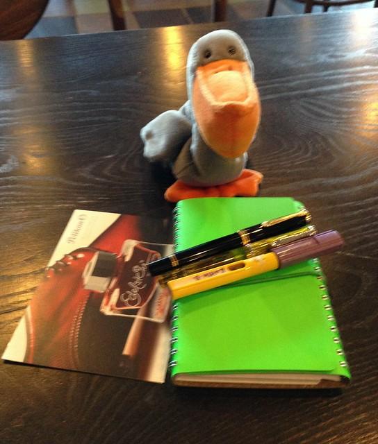 Shiney Green Notebook