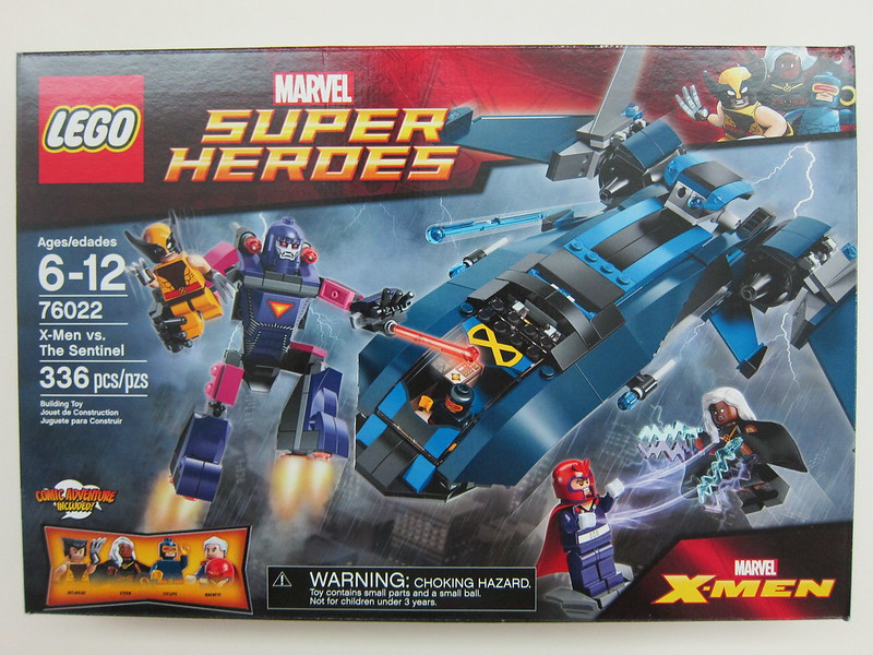 Lego - 76022 - Super Heroes - X-Men vs. The Sentinel Building Set