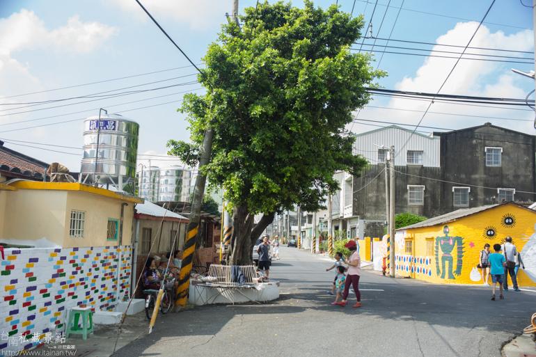 台南私藏景點--善化胡家里彩繪社區 (13)