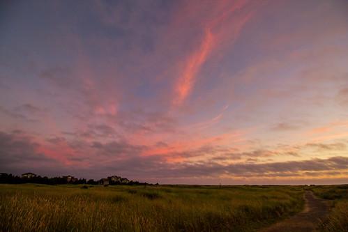 sunset twilight path breakers longbeachwashington