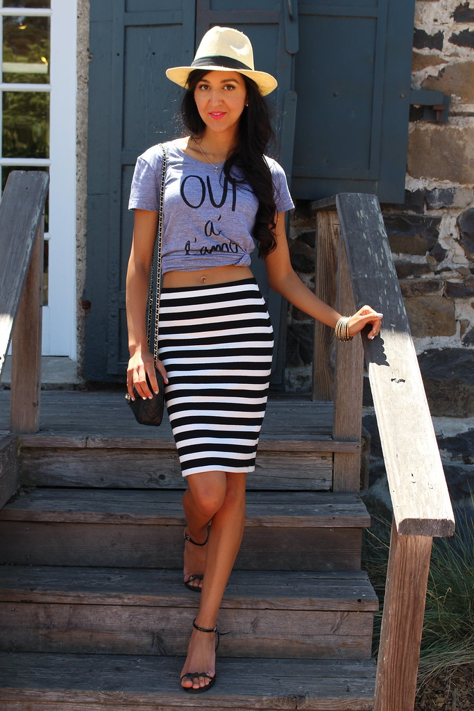 Splurge vs Save : Striped Skirt 6