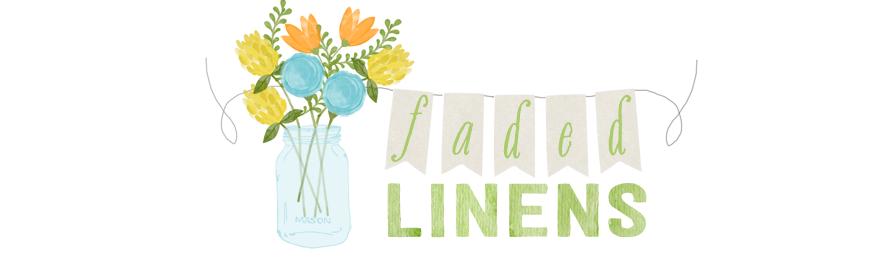 Faded Linens header