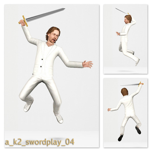 SwordPlay - Pose 04