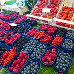 I colori dei frutti di bosco