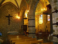 Montory. Interior Església de l'Assumpció