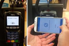 tap a card reader