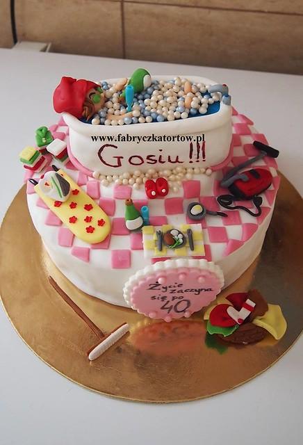 Cake by Fabryczka Tortów