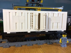 Lego Train Container on Flat MOC