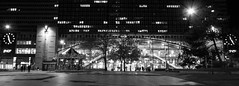 Gare Montparnasse de nuit