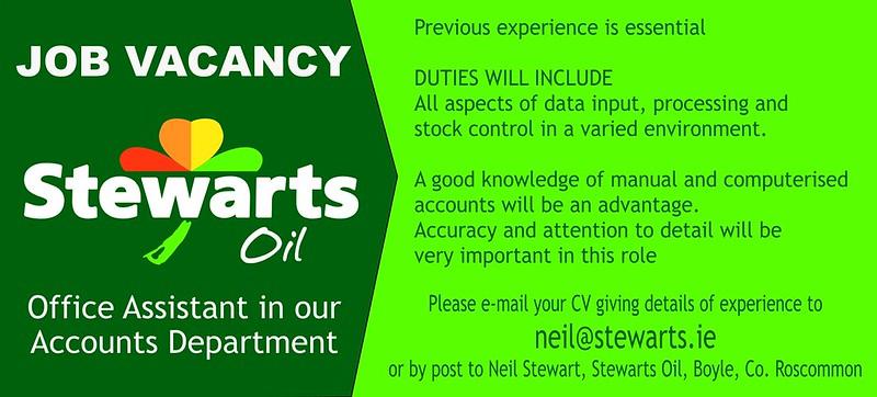 Stewarts Job Vacancy