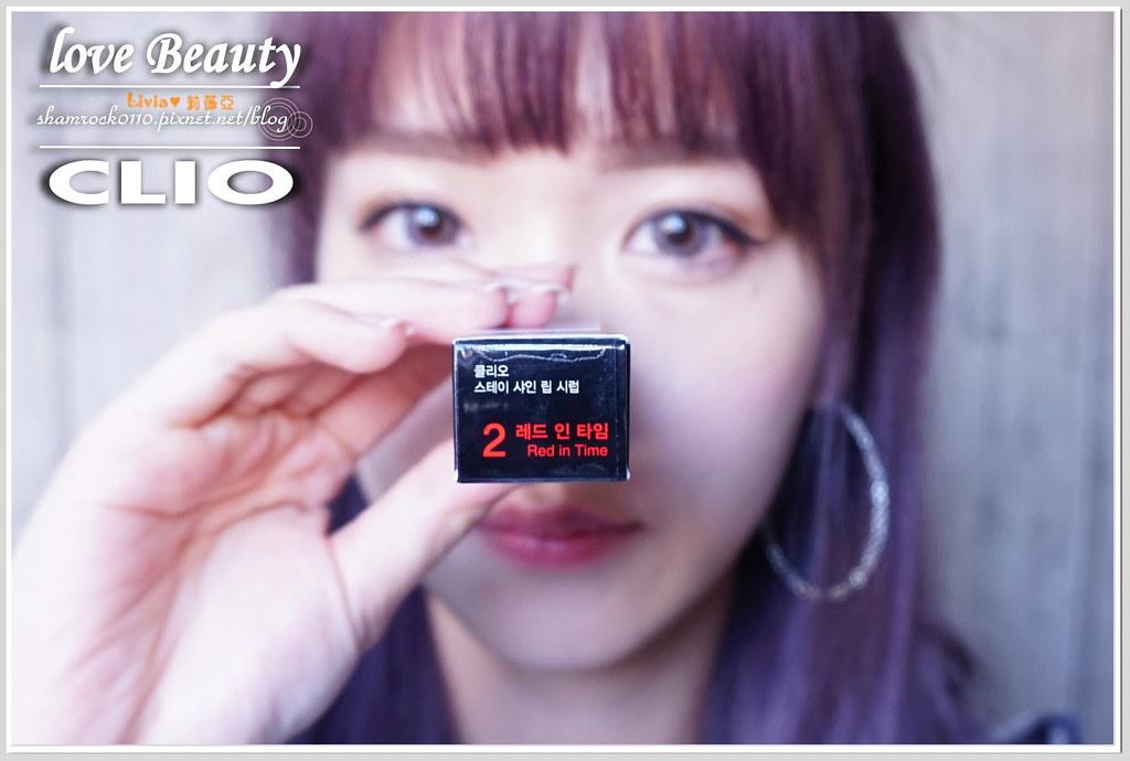 CLIO唇膏加唇釉試色-20
