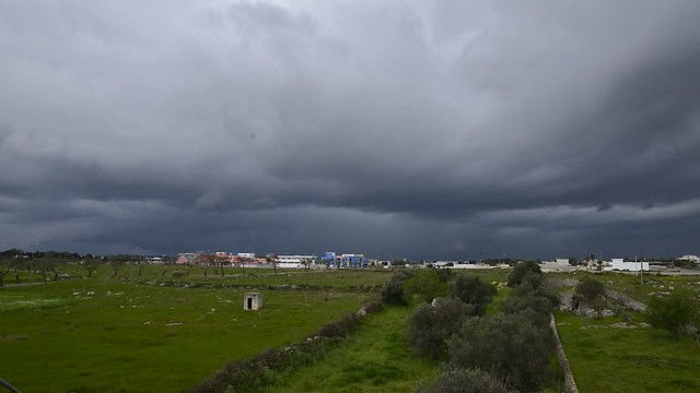 Amazing Shelfcloud in Salento