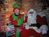 Santa at the Crossing Keeper's Hut 2016