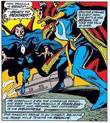 Doctor Strange vs. Dracula, this week at www.LongboxGraveyard.com #DoctorStrange
