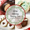 2016 holiday baking list