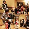 Recording time! The kiddies with Alexandra Delgado - Le carnaval des toutous
