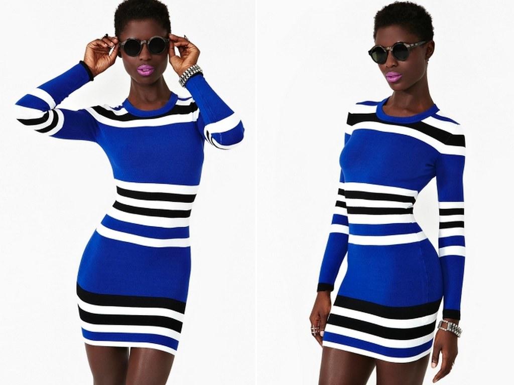 Striped Dress Nasty Gal