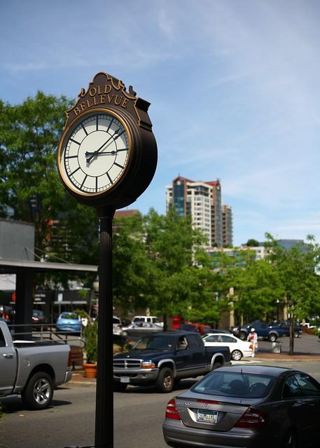 Old Main Clock