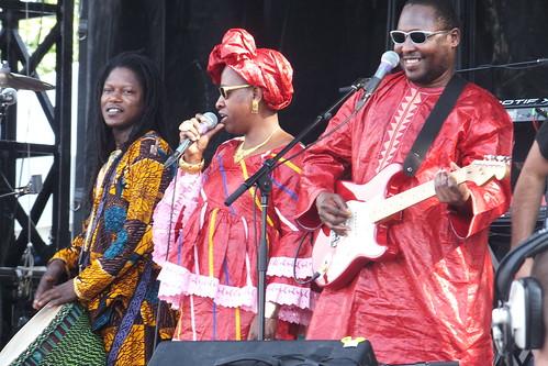 Amadou & Mariam at Ottawa Bluesfest 2013