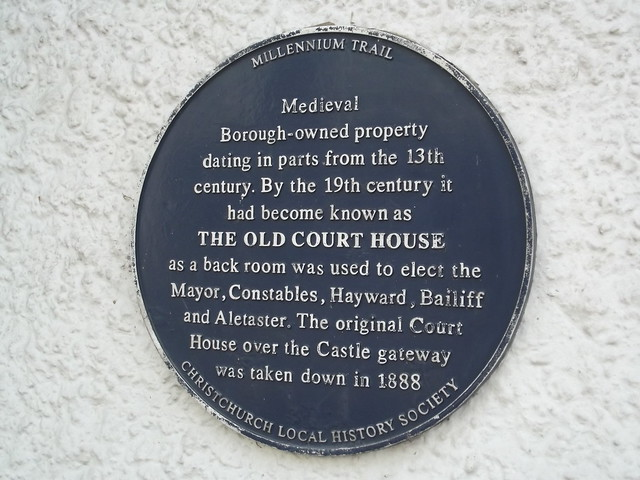 Photo of The Old Court House blue plaque