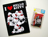 Hello Kitty mini letterset & A4 divided folder