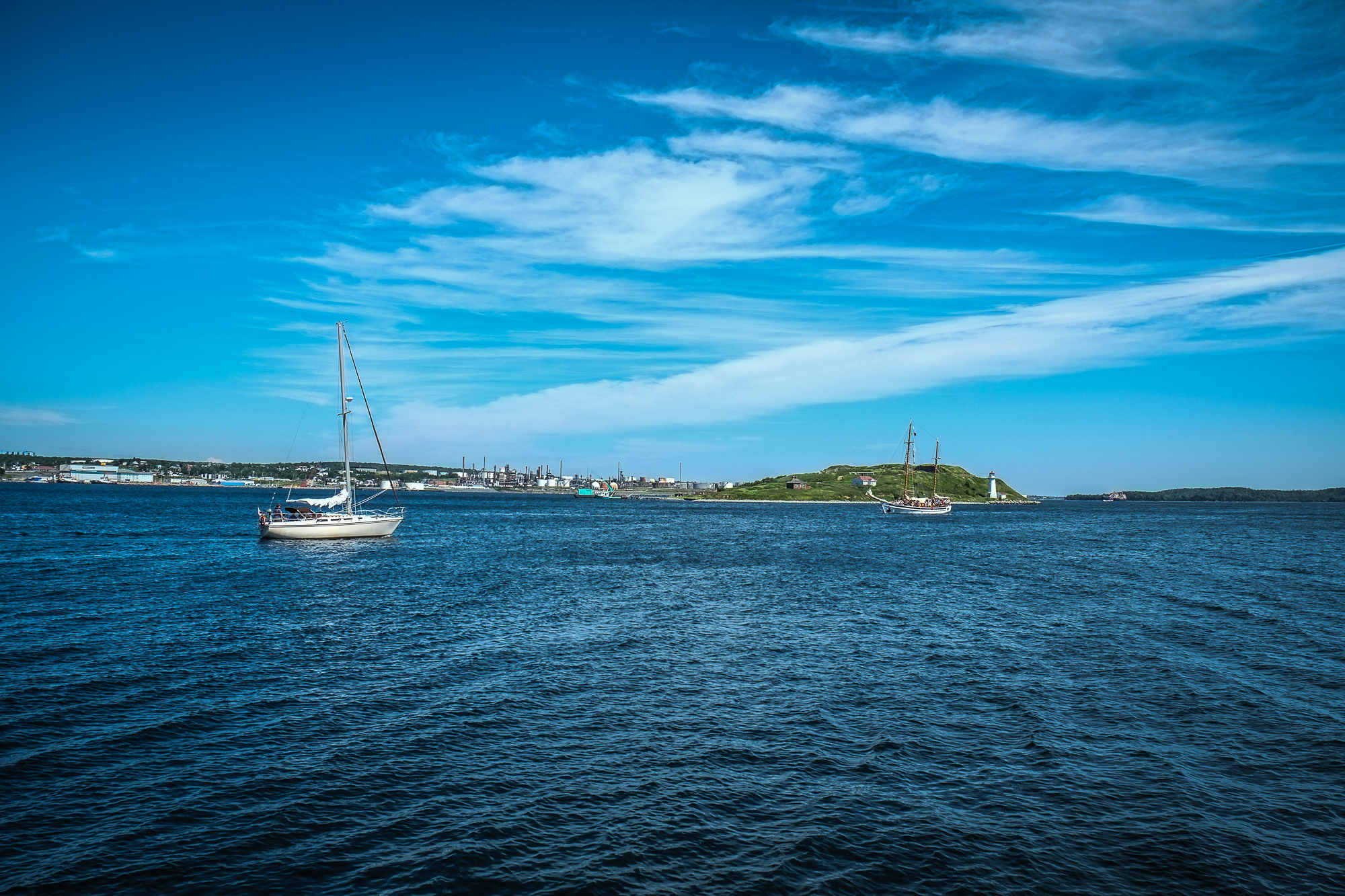 A View of George's Island, Halifax, Nova Scoita