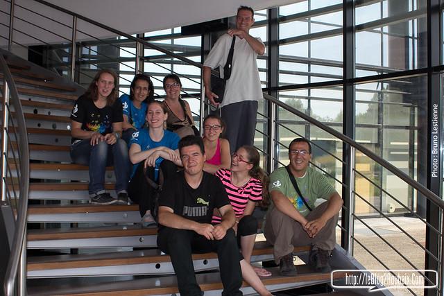 les habitants visitent Antares
