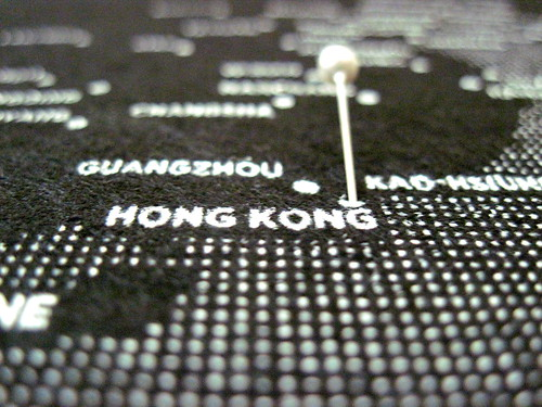 Off to Hong Kong