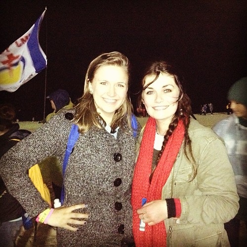 Alyssa with Bernadette
