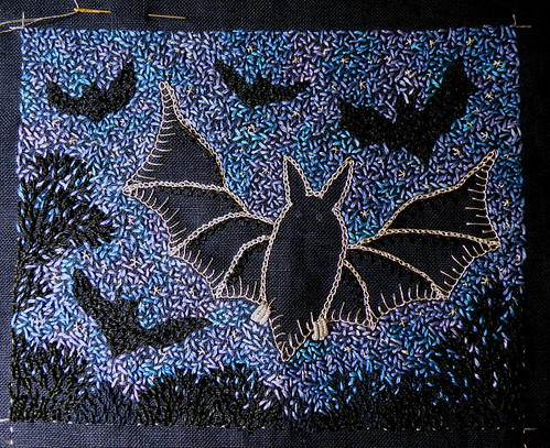 Batty WIP 6 - the stars are out