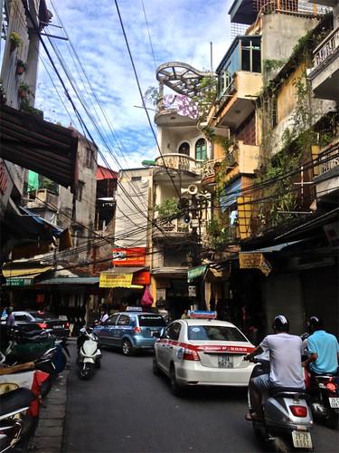 streets of Hanoi