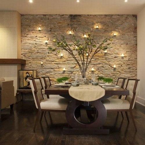 Revestimientos de paredes interiores en piedra imagui - Decoracion paredes de piedra ...