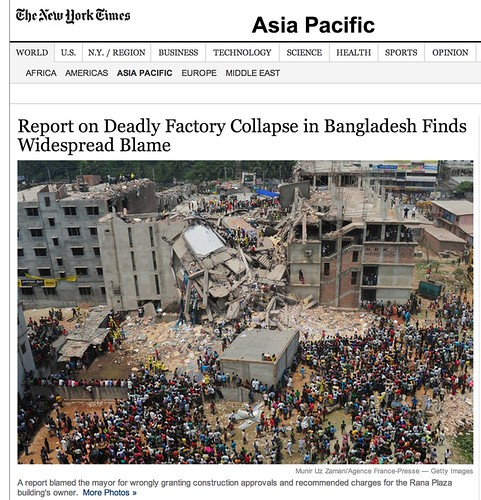Report on Bangladesh Building Collapse Finds Widespread Blame - NYTimes.com