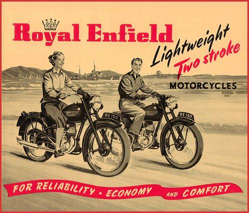 1958 Royal Enfield lightweights by bullittmcqueen