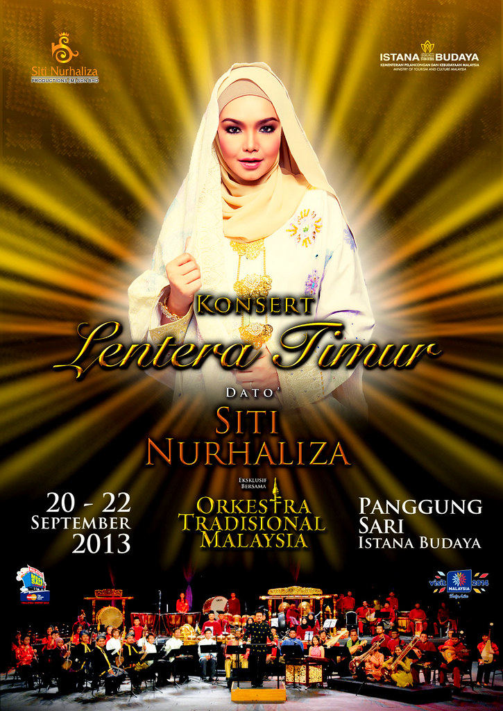 Poster Konsert Lentera Timur Siti Nurhaliza