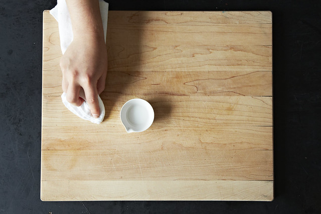 Cleaning with salt from Food52