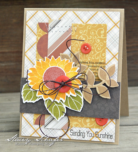 sunflower surprise card