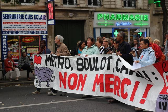 Manifestation contre la réforme des retraites - 10 septembre 2013