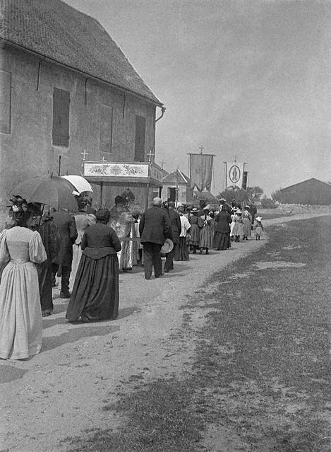 Procession Fête-Dieu, 1895