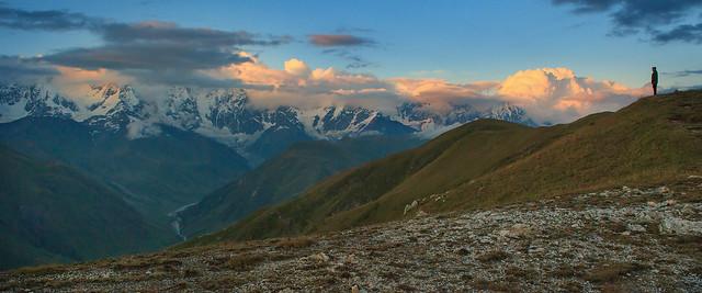 Svanetian Evening