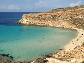 Rabbit beach, Lampedusa, Sicily