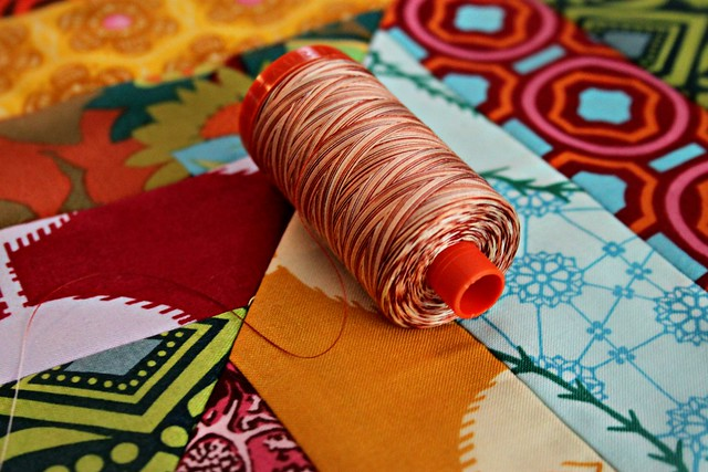 A very Fallish Aurifil Variegated