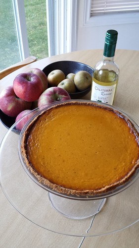 Not-Pumpkin Ginger Pie