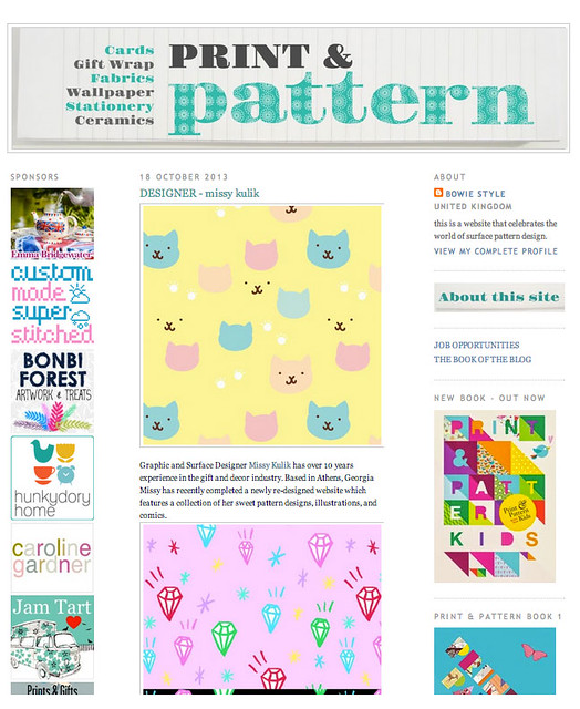 Print and Pattern Oct 2013