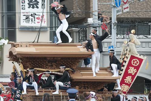 Kishiwada Danjiri Matsuri 岸和田だんじり祭 5