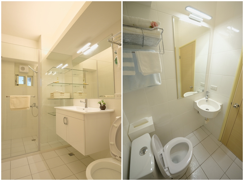 溫馨居家風-間接照明衛浴間