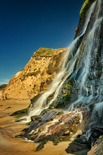ocean california ca beach waterfall bayarea pointreyes alamerefalls flickrandroidapp:filter=none