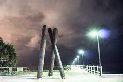 Wynnum Jetty at Night